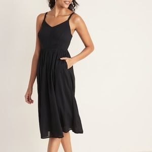 Old Navy Fit & Flare Midi Dress Never Worn Size M